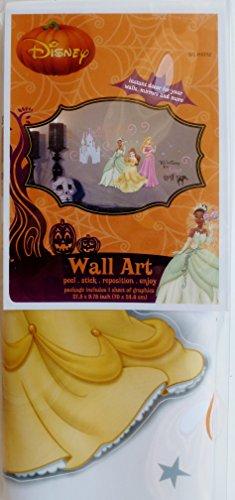 Disney Halloween Prinzessin Art Wand wiederverwendbar Aufkleber