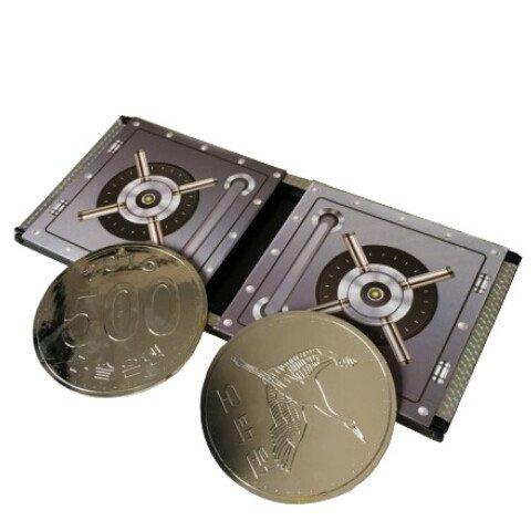 Doowops amazing coin box trucchi magici moneta vanishing trick close up puntelli accessorigimmick illusion, gimmick