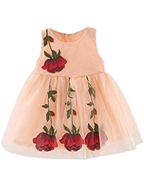 Bebé de la princesa vestido de las muchachas, Koly dulce de verano de los bebés del desfile de los vestidos sin...