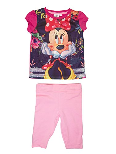 Minnie mouse direction ragazze t-shirt e leggings set età 3,4,6,8 anni