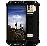 OUKITEL WP2-6.0 Zoll FHD+ (18:9Voll Bildschirm) Militärstandard Smartphone mit 10000mAh-Batterie (42 Tage Standby-Zeit), IP68 Wasserdicht/Stoßfest/, Octa-Core 4GB+64GB, Gold