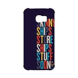 BLUEDIO Designer Printed Back case cover for Samsung Galaxy S6 Edge - G7054