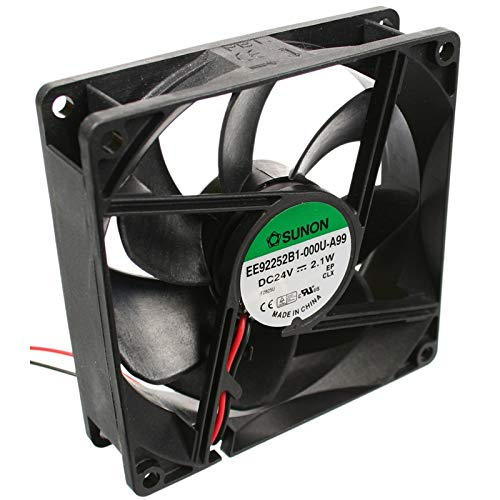 EE92252B1-A99 Fan DC axial 24VDC 92x92x25mm 87.55m3/h 34dBA ball SUNON -