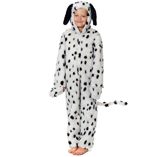 Dalmatiner Kostüm für Kinder. 4-6 (Kind Cruella Kostüm)
