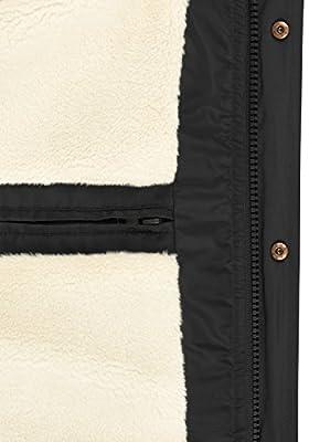 BLEND Frederic Herren Winterjacke Stepp-Jacke mit Kapuze und Teddy-Futter aus hochwertiger Materialqualität