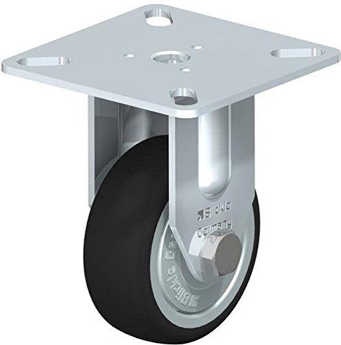 BLICKLE bpa-path 50K-fk Feste Caster, 5cm Rad Durchmesser, 165LB. Tragkraft (Serie 76 Halterung)