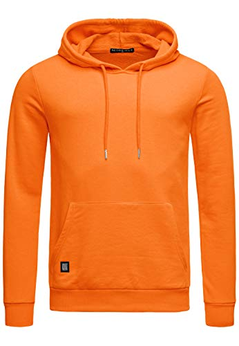 Red Bridge Herren Kapuzenpullover Hoodie Premium Basic,Orange-i,XXL