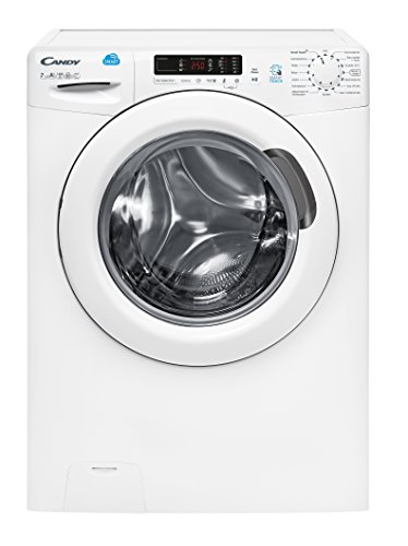 Candy CS G472 D3 Waschmaschine Frontlader/A+++/1400 UpM/kg/App-steuerbar dank NFC-Technologie/weiß