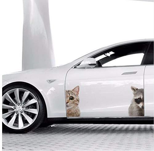 Lvabc Schöne Katze Maus Tür Wand Peeper Wohnzimmer Schlafzimmer Kühlschrank Dekoration Tier Kunst Aufkleber Wand Aufkleber