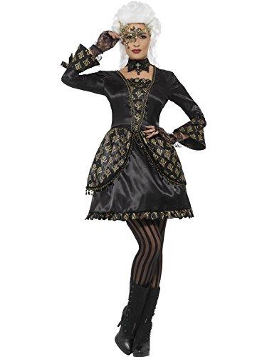 Imagen de disfraz de dama gótica de época para mujer
