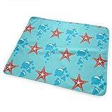 Voxpkrs Bubble Starfish Diaper Change Pad Tappetino Portatile e Pieghevole 25,5 x 31,5 Pollici
