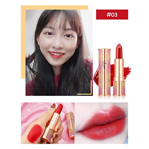POachers ange Le rouge à lèvres imperméable durable de brillant à lèvres mat sexy gardent 24 heures Rouge à lèvres mat -Beautiful Lips Colour Intense Matt-rouge à lèvres classique