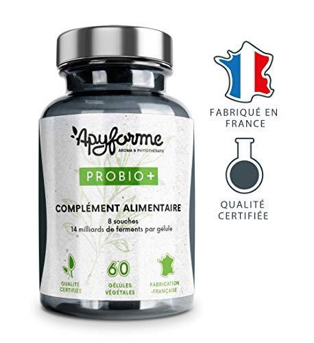 Probiotiques Haute efficacité.8 souches probiotiques dosées à 14 milliards de micro-organismes vivants par gélule.60 Gélules(...