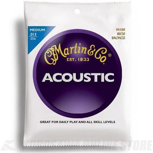 Martin Smith M150 - Juego de cuerdas para guitarra acústica, material de bronce.013 - .056