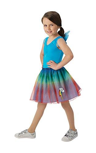 y Little Pony Kinder-Flutter Shy Tutu und Flügel Set (One Size, 4–8Jahre) (Rainbow Dash Tutu)
