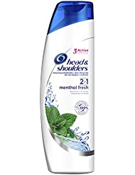 Head & Shoulders Menthol Fresh Shampooing Antipelliculaire 2 en 1 255 ml - Lot de 3