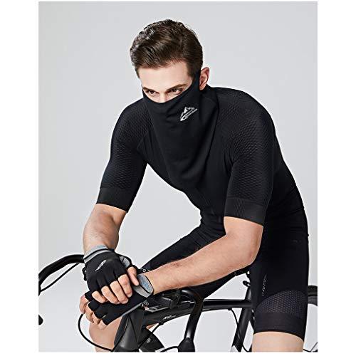 nstuch Gesichtsmaske,1Pcs Multi Functional Gesichtsmaske Ice Silk Sonnenschutz Cap Schal mit Ear Loops Waschbar, Wasserdicht, Atmungsaktiv ()