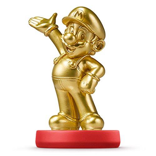 amiibo MARIO GOLD version (Gold Mario Amiibo)