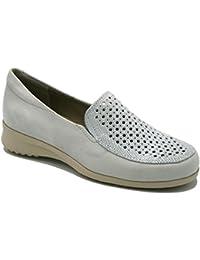 Zapatos Amazon Pitillos Y Zapatos Complementos Mujer Beige es wq85rxq4X