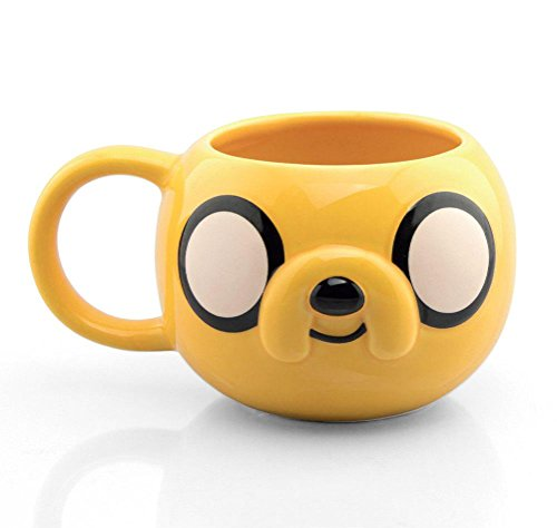 Close Up Adventure Time Tasse Jake The Dog 3D - Multicolor, Bedruckt, aus Keramik, in attraktiver Geschenkbox