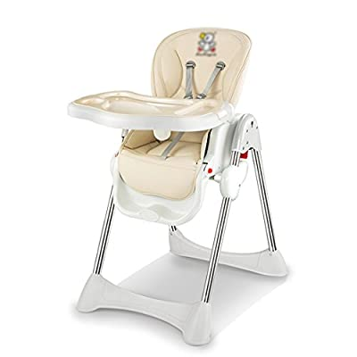 Sofa stool Brisk- Baby dining chair Baby dining table and chair Collapsible Multifunction Meal seat Portable Children's chair (Color : Ivory white)