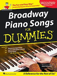 HAL LEONARD Broadway Piano Songs For Dummies (P/V/G) (Sie Big Dummy)