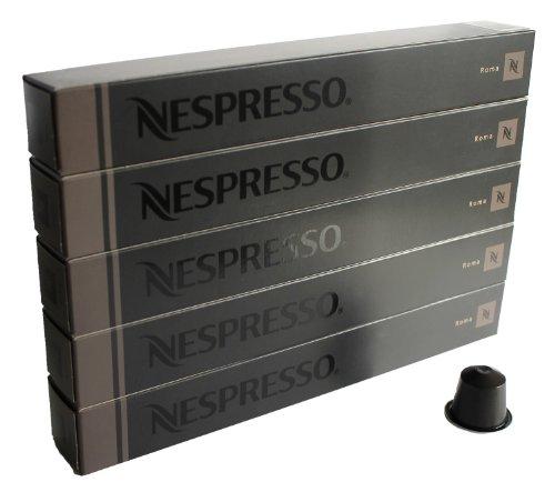 Nespresso Espresso 50 CAPSULE Roma