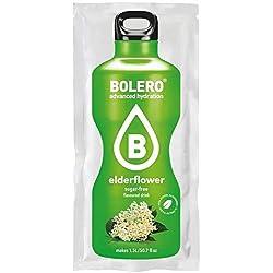 Paquete de 12 sobres bebida Bolero sabor Sabor Flor de Saúco