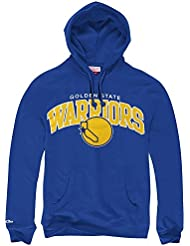 & mitchell ness golden state warriors arch nBA team sweat-shirt à capuche bleu
