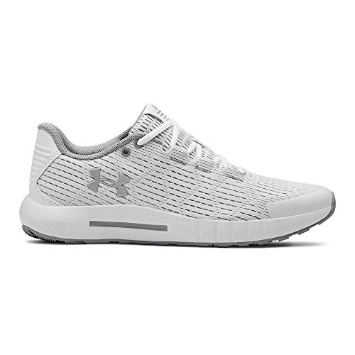 Under Armour Micro G Pursuit Se, Zapatillas de Running para Mujer, Blanco (White/Mod Gray/Metallic Silver 101), 38 EU