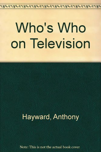 Who's Who on Television by Anthony Hayward (1994-11-30) par Anthony Hayward