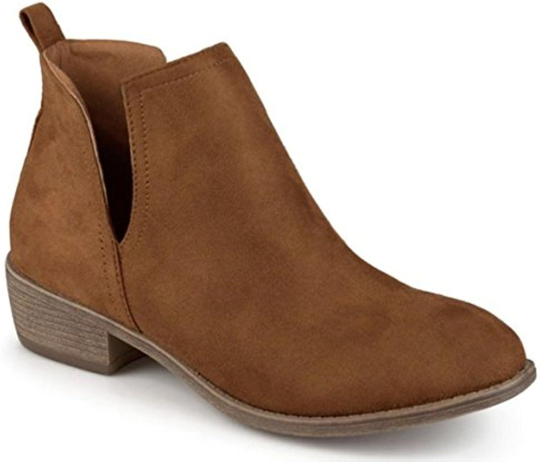 11sunshop Fletcher - Botas de Piel para mujer marrón marrón