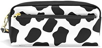 Coosun Coosun Coosun Vache Motif Portable Cuir PU Trousse d'école Pen Sacs papeterie Pouch Case Grande contenance Sac de maquillage B0759T6TNV | Premiers Clients  f7d0bf
