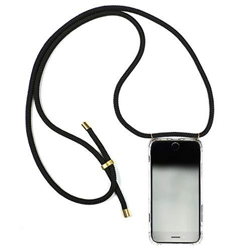 - Band-handy (KNOK Case Handykette Handyhülle mit Band Kompatibel mit iphone 7 / iphone 8 - Handy-kette Handy Hülle mit Kordel zum Umhängen Handyanhänger Halsband lanyard Case / Handy Band Halsband Necklace)