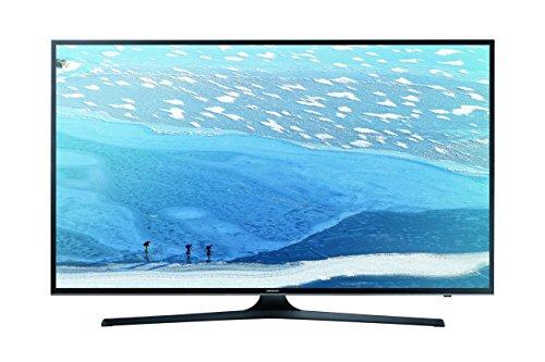 Samsung UE55KU6079UXZG 138 cm (55 Zoll) Fernseher (Ultra HD, DVB-T2, DVB-C, DVB-S, Smart TV, WLAN) [Energieklasse A] (55 Zoll Samsung 3d Smart-tv)