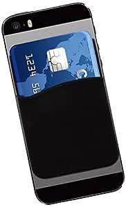 Muvit MUSTK0019 Porte-carte adhésif en silicone pour Smartphone