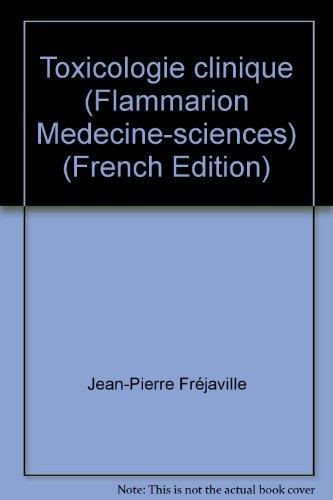 Toxicologie clinique et analytique