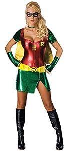 Fancy Dress Lady Robin Costume - Size 12-14 (disfraz)