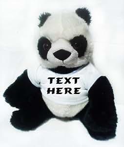 Peluche panda personnalisé