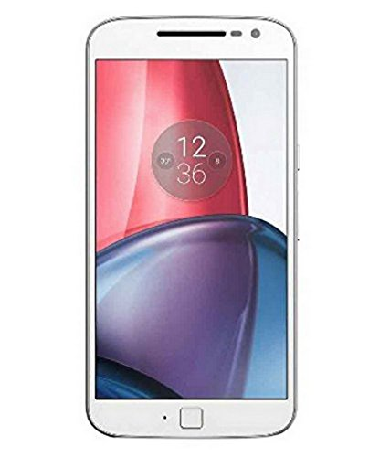 (CERTIFIED REFURBISHED) Motorola G4 Plus XT1643 (White, 16GB)