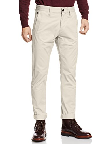 G-STAR RAW Bronson Slim Chino, Pantalon Homme Beige (Whitebait 1603)