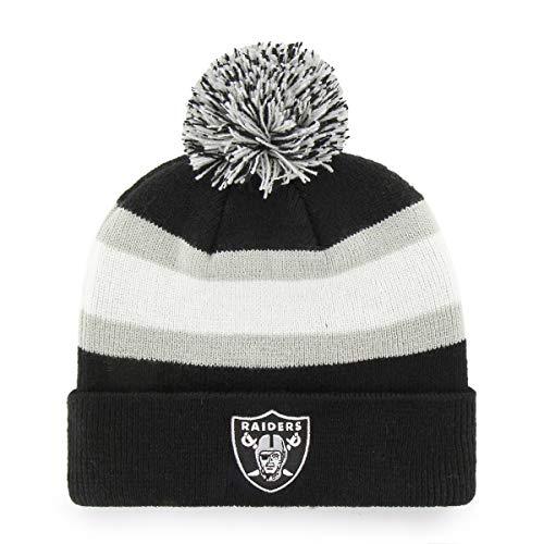 Sherpa Baumwolle Hut (OTS Herren NFL Rush Cuff Strickmütze mit Bommel, Rush Down Cuff Knit Cap with Pom, Team Color, Einheitsgröße)