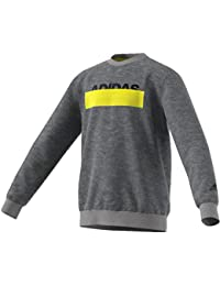 reputable site dadd6 3dffe adidas Lineage Crewneck Sweater, Felpa Bambino, Core Heather, 11-12A