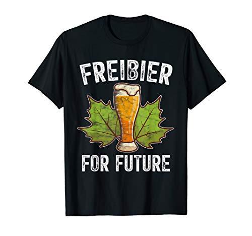 Freibier For Future Biertrinker T-Shirt
