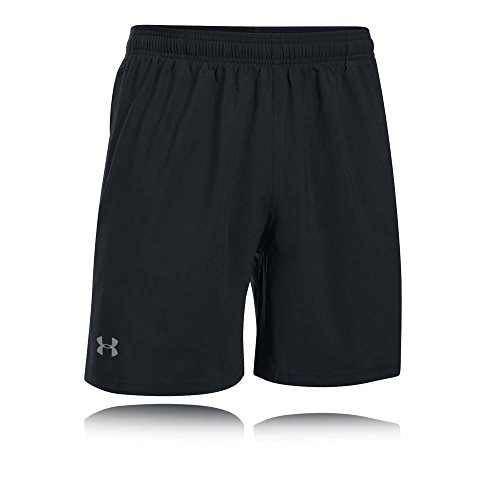 Under Armour Herren UA LAUNCH SW 7'' Shorts, Schwarz (Schwarz), XL