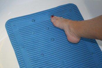 Isagi StayPut Anti Micobial Anti Slip Shower Mat (50.8 X 50.8cm)