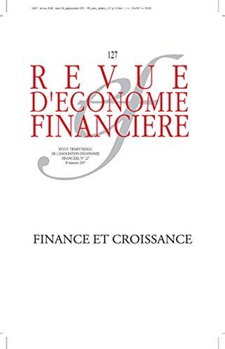 Finance et croissance: 3e trimestre 2017