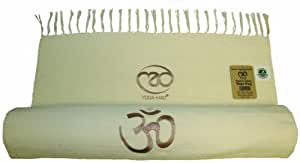 Yoga Mad Tapis de yoga en coton organique Naturel