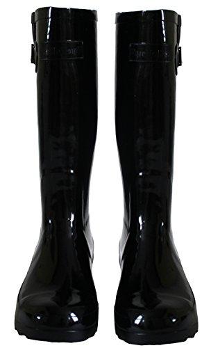A amp;h Whalewyreunion shiney Arbeits Mädchen Jack Footwear gummistiefel Damen Black rvqcpdrP