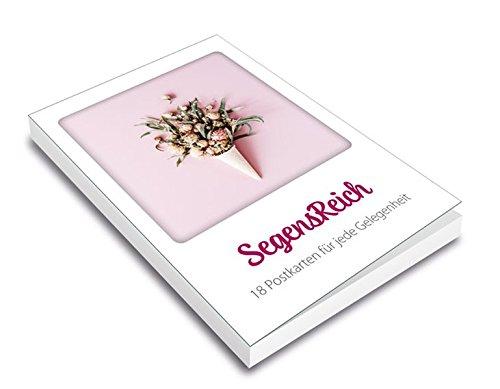 SegensReich - Postkartenset: 18 Postkarten für jede Gelegenheit.